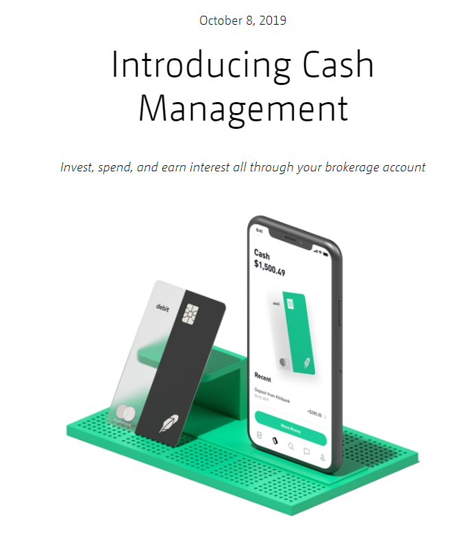 robinhood cash mgmt